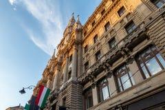 Una bonita vista de Budapest Hungría fotos de archivo