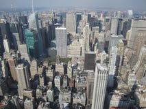Una bonita vista del Empire State foto de archivo