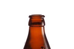 Una botella de cerveza Fotografía de archivo libre de regalías