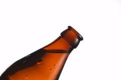 Una botella de cerveza Imagenes de archivo