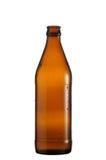 Una botella de cerveza Fotos de archivo libres de regalías