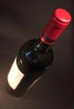 Una bottiglia del vino dell'italiano di qualità Fotografia Stock
