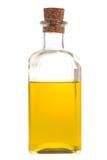 Una bottiglia di olio Fotografie Stock Libere da Diritti
