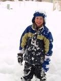 Una bufera di neve di 2006 Immagine Stock