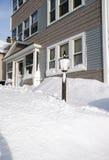 Una bufera di neve di guaime 2013 Fotografie Stock