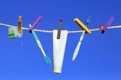 Una buona cura dentaria Fotografie Stock Libere da Diritti