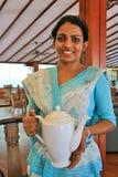 Una cálida bienvenida en Sri Lanka Foto de archivo libre de regalías