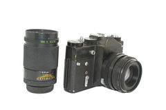 Una cámara vieja Imágenes de archivo libres de regalías