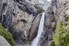 Una caída más baja IV de Yosemite Fotos de archivo