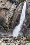 Una caída más baja V de Yosemite Imagen de archivo