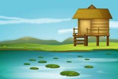 Una cabaña libre illustration