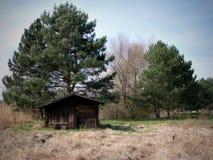 Una cabina vieja Fotos de archivo libres de regalías