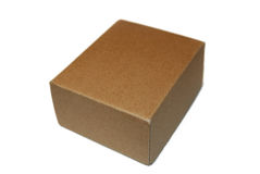 Una caja Foto de archivo