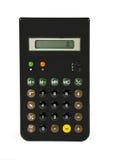 Una calculadora de mano retra Fotos de archivo libres de regalías