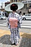 Una calle de Kyoto en Jap?n foto de archivo