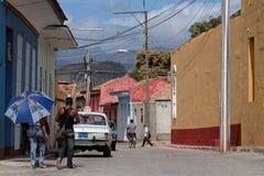 Una calle de Trinidad Foto de archivo