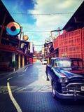 Una calle en la ciudad vieja Fotografía de archivo