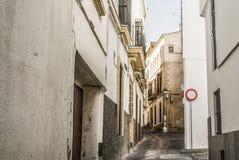 Una calle muy vieja fotografía de archivo libre de regalías