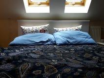 Una cama Imagen de archivo