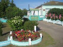 Una cama de flor en el jardín Imagen de archivo libre de regalías