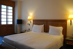 Una camera di albergo Fotografie Stock