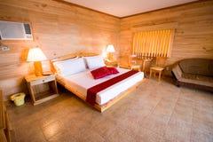 Una camera di albergo delle cinque stelle Fotografia Stock Libera da Diritti
