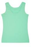 Una camisa de deportes verde clara Imagenes de archivo