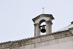 Una campana en la nieve Imagenes de archivo