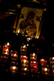 Una candela per voi Fotografie Stock Libere da Diritti