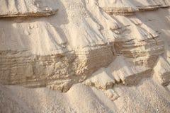 Una capa de arena Fotografía de archivo