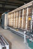 Una capacidad grande refrigerada del gabinete Foto de archivo libre de regalías