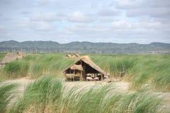 Una capanna di legno dello Stilt Immagini Stock Libere da Diritti