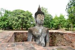 Una cara de la imagen de Buda Foto de archivo