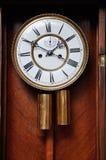 Una cara de reloj foto de archivo