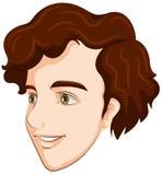 Una cara sonriente de un individuo Imágenes de archivo libres de regalías