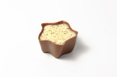 Una caramella di cioccolato in bianco e nero Fotografia Stock Libera da Diritti