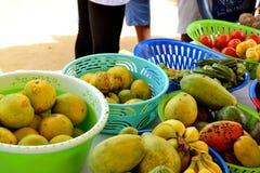 Una caravana para aumentar la conciencia de buenas prácticas alimenticias Fotos de archivo libres de regalías