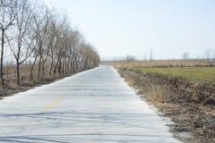 Una carretera Imagen de archivo libre de regalías