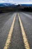 Una carretera del país Foto de archivo