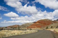 Una carretera del país Fotos de archivo