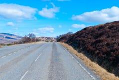Una carretera escénica Fotos de archivo libres de regalías