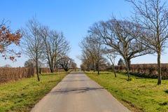 Una carretera nacional Imagen de archivo libre de regalías