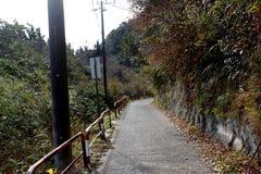 Una carretera nacional en la prefectura de Chiba Fotos de archivo libres de regalías