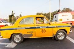 Una carrozza di ambasciatore Taxi fotografia stock libera da diritti