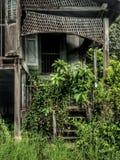 Una casa abandonada Foto de archivo libre de regalías