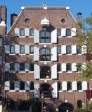 Una casa a Amsterdam Immagine Stock