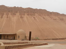 Una casa antica nel deserto Fotografia Stock Libera da Diritti