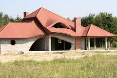 Una casa brandnew Fotografie Stock Libere da Diritti