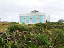 Una casa canaria en Fuerteventura Imágenes de archivo libres de regalías
