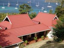 Una casa che trascura la baia di Ministero della marina. Fotografie Stock